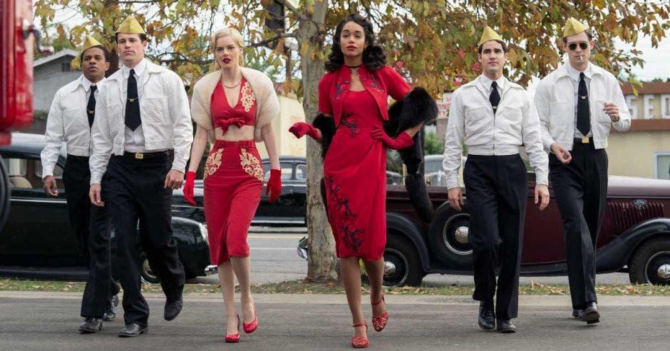 Protagonistas de serie Hollywood