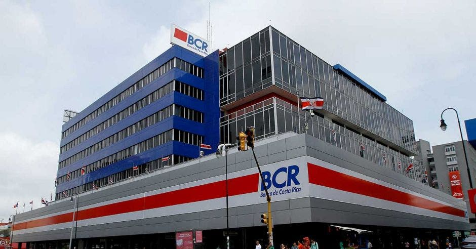 Fachada del BCR