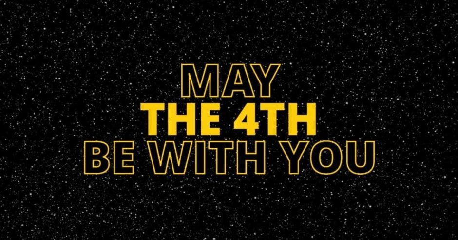 Frase May the 4th be with you