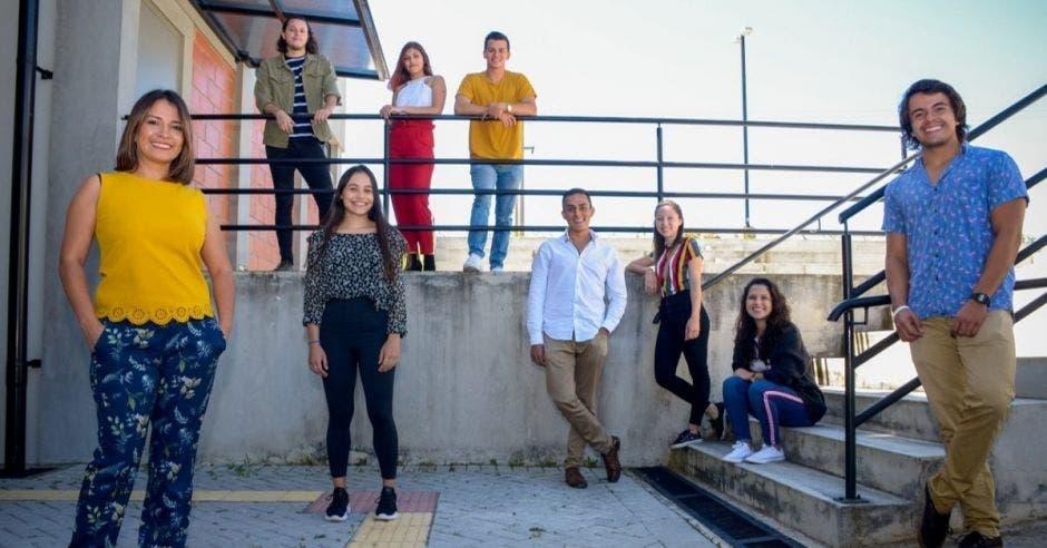 Estudiantes del TEC
