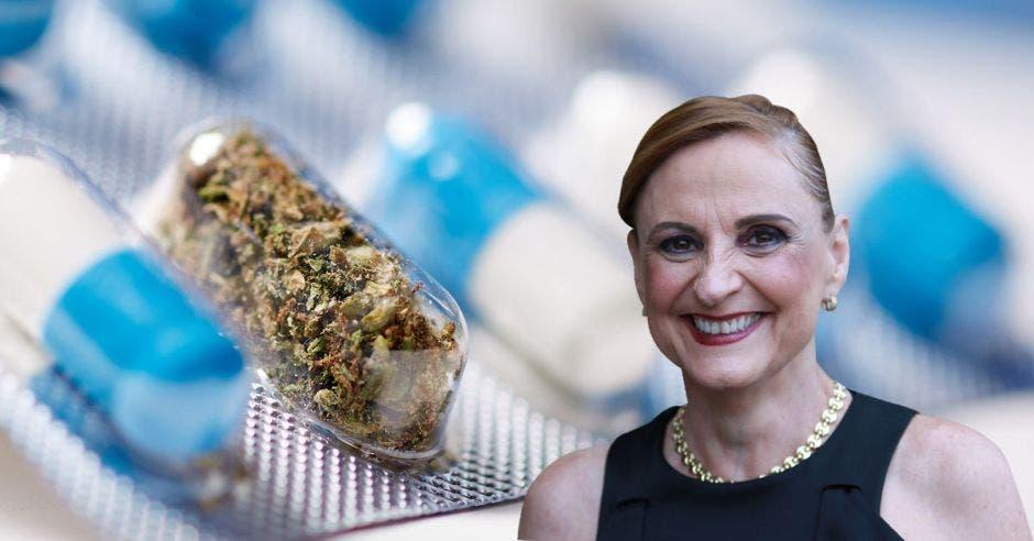 """""""Costa Rica puede convertirse en un polo de desarrollo y clúster de empresas de cáñamo y cannabis medicinal"""", según Zoila Volio, diputada independiente. Cortesía/La República."""