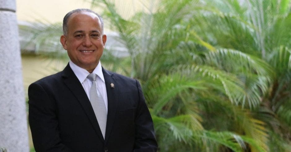 Luis Fernando Chacón, jefe de Liberación. Archivo/La República.
