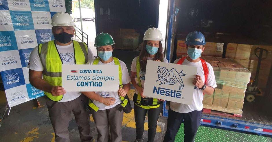 Colaboradores de Nestlé