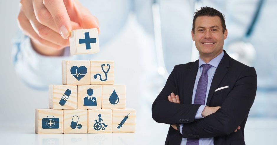 Massimo Manzi, director ejecutivo de la Cámara de Salud