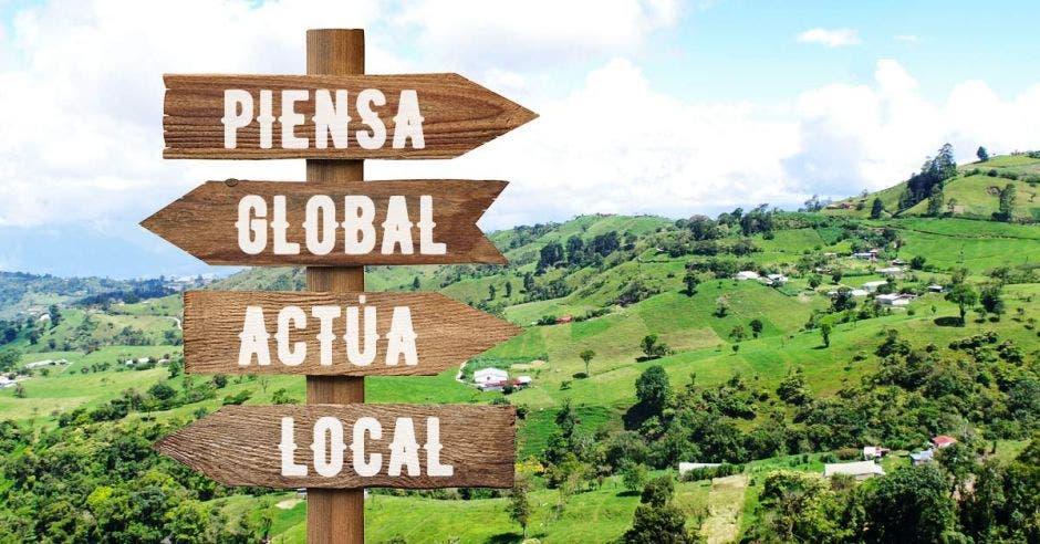 """""""Piensa Global, Actúa Local"""" Turrialba es uno de las zonas del país donde se practica esta iniciativa"""