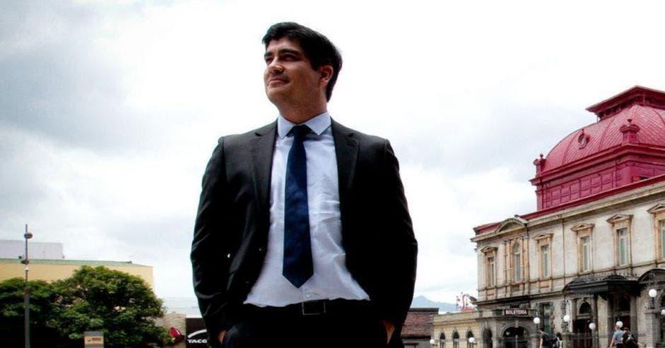 Carlos Alvarado, presidente. Archivo/La República