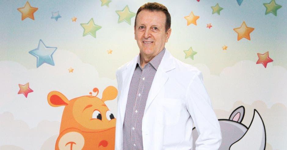 Juan Aguilar, pediatra del Hospital Clínica Bíblica.