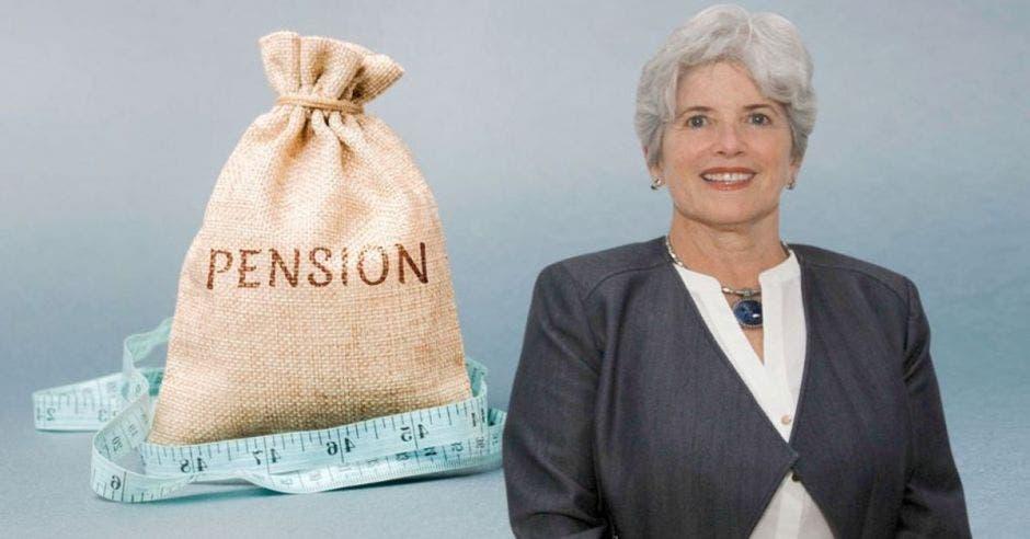 Rocío Aguilar, superintendenta de pensiones. Archivo/La República.