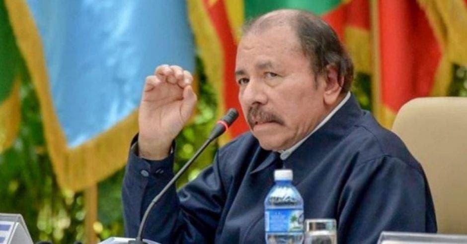 Daniel Ortega, presidente de Nicaragua. Archivo/La República.