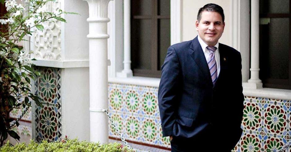 Fabricio Alvarado, secretario de Nueva República. Archivo/La República.