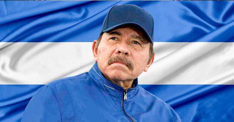 Daniel Ortega, presidente de Nicaragua. Elaboración propia/La República