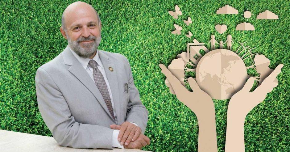 El último en dejar la administración Alvarado Quesada fue Carlos Manuel Rodríguez, titular del Ministerio de Ambiente, quien ayer anunció que fue designado como director del Fondo Mundial para el Medio Ambiente. Archivo/La República.