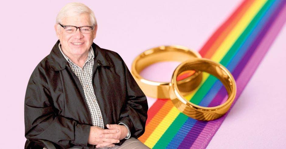 """""""Se trata de una propuesta de ley que no tiene ni pies, ni cabeza"""", agregó Marco Castillo, reconocido activista y abogado LGBT. Archivo/La República."""