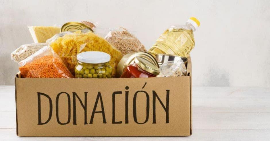 caja de comida