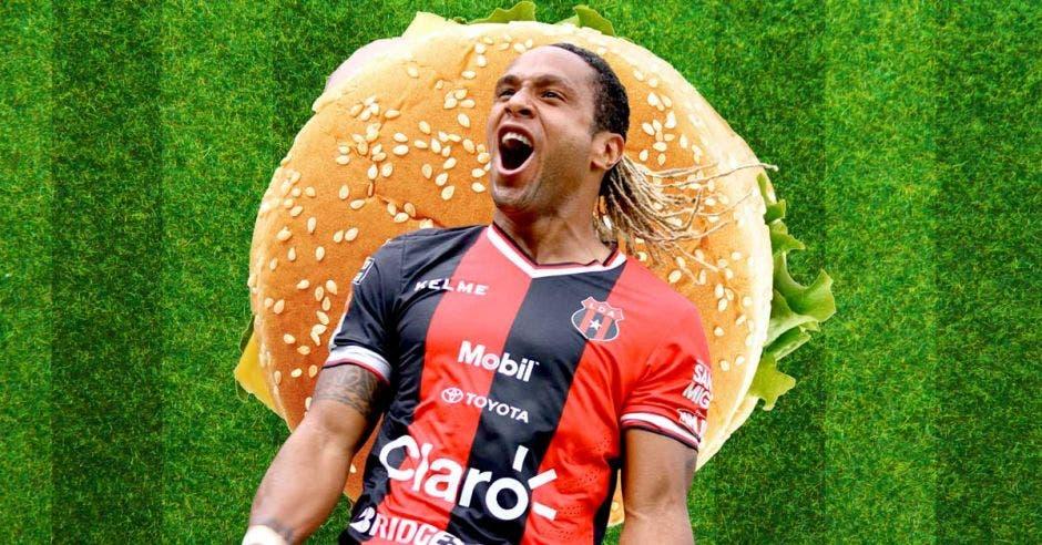 Jonathan McDonald, el futbolista hamburguesa