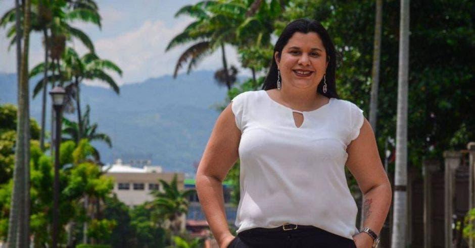 Paola Vega del PAC. Archivo/La República.