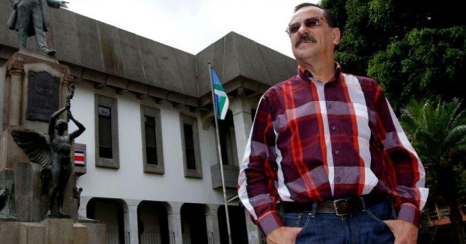 Albino Vargas, secretario de la ANEP. Archivo/La República.
