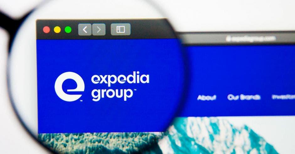 Logo de Expedia Group