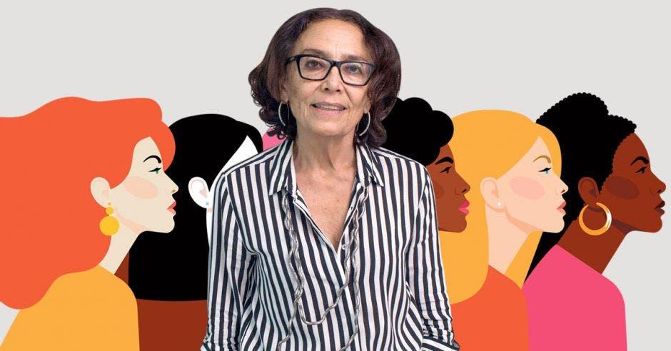 """""""Las mujeres van a poder recibir formación empresarial desde un enfoque de género"""", dijo Patricia Mora, Ministra de la Condición de la Mujer. Archivo/La República."""