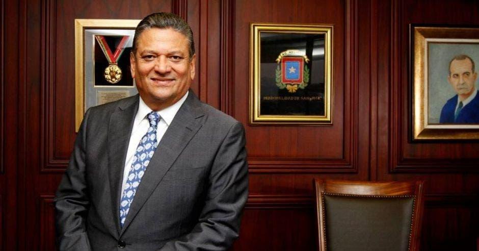Johnny Araya, alcalde de San José. Archivo/La República.