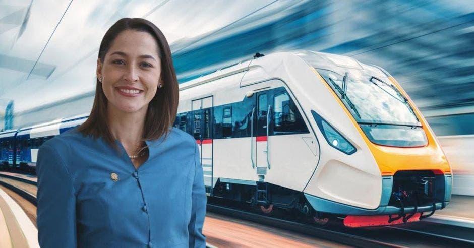 María Inés Solís, diputada del PUSC. Elaboración propia/La República