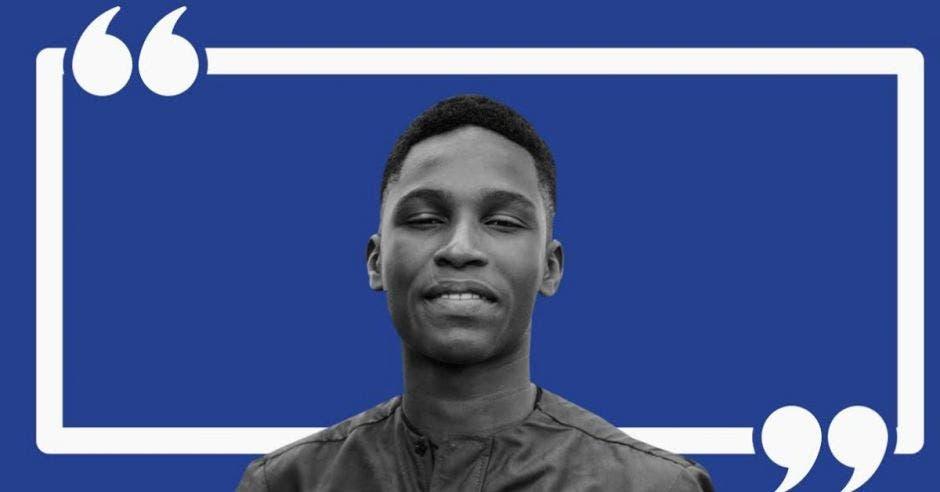Anthony Titcombe, actualmente estudiante del United World College