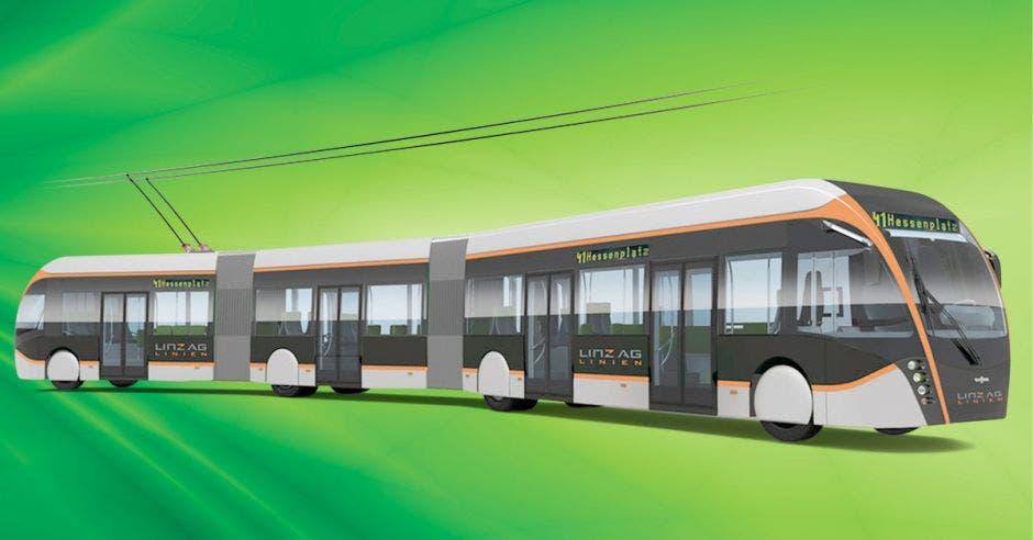 El sistema de buses es barato de desarrollar en comparación con el tren que planea el gobierno de $1.550 millones. Shutterstock/La República.