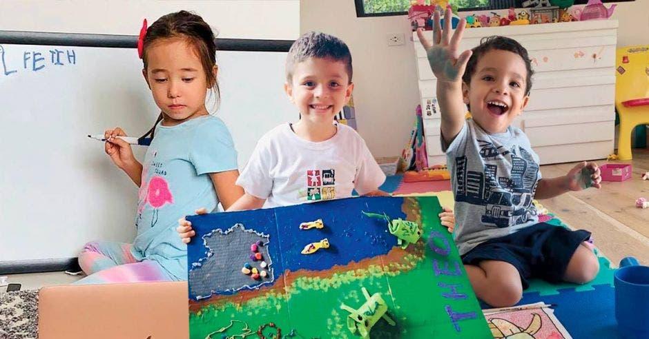 Niños estudiantes del St. Jude
