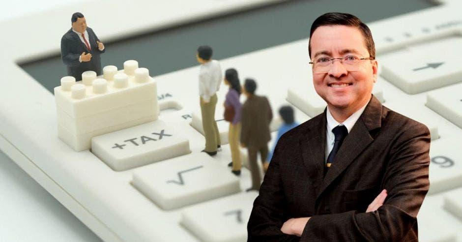 Pedro Muñoz, diputado de la Unidad. Elaboración propia-Shutterstock/La República.