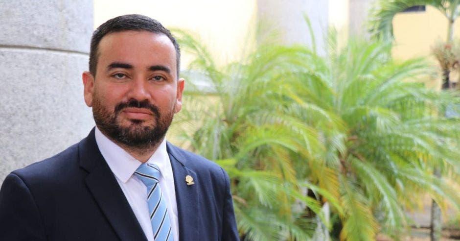 Jonathan Prendas, diputado Nueva República. Cortesía/La República.
