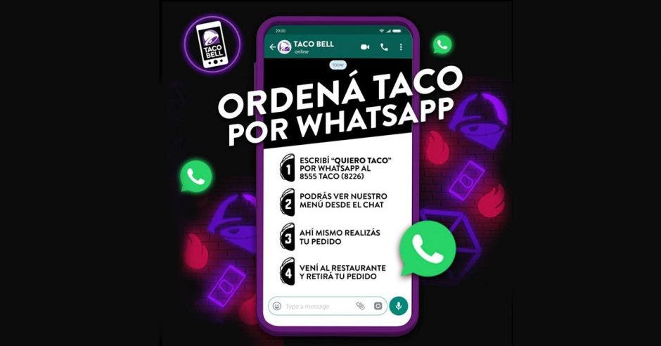 Afiche promocional de Taco Bell