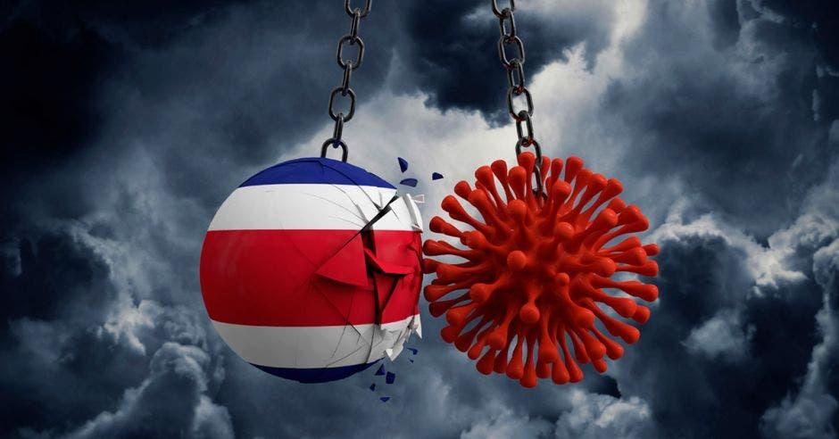 Coronavirus como bola de construcción golpea a Costa Rica