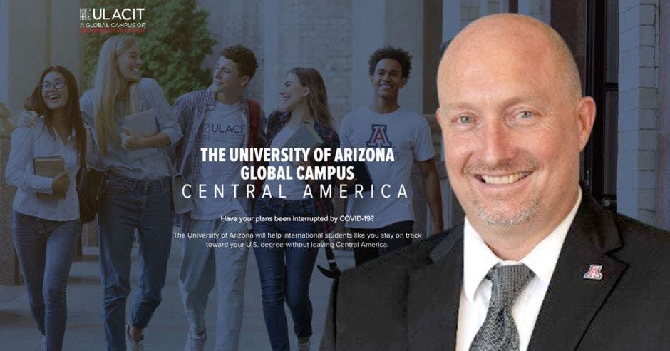Justin Dutram, vicepresidente adjunto para iniciativas Latinoamericas de la Universidad de Arizona.