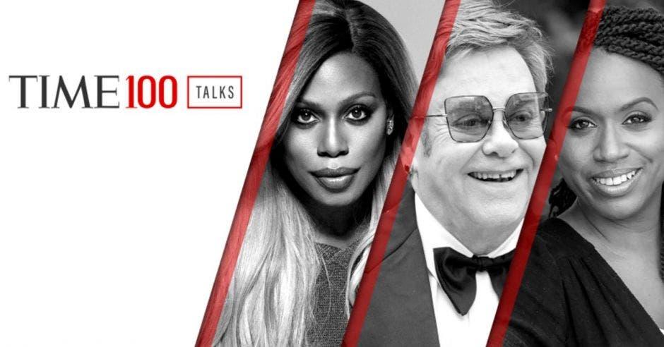 Tres personas influyentes en portada de revista