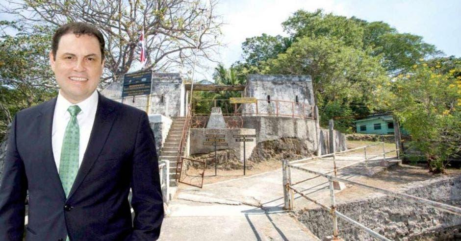 La Isla San Lucas sería un sitio ideal para el turismo, según Carlos Ricardo Benavides, diputado del PLN. Archivo/La República.