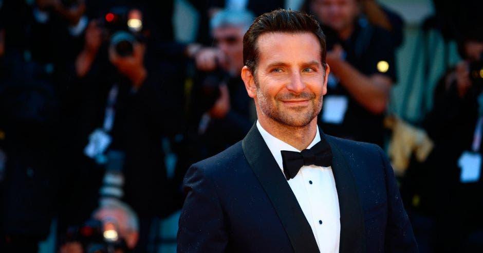Bradley Cooper, actor, en una gala