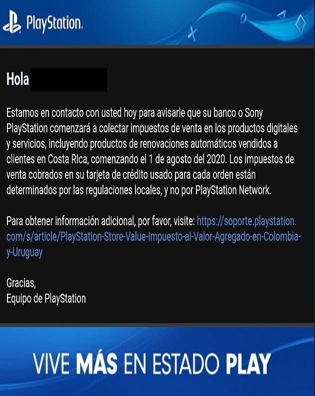 Correo de Sony