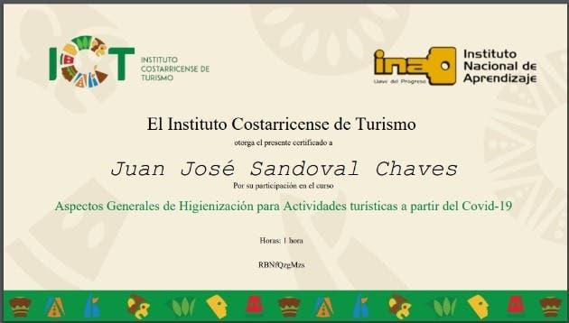 Diplomado de certificación del ICT