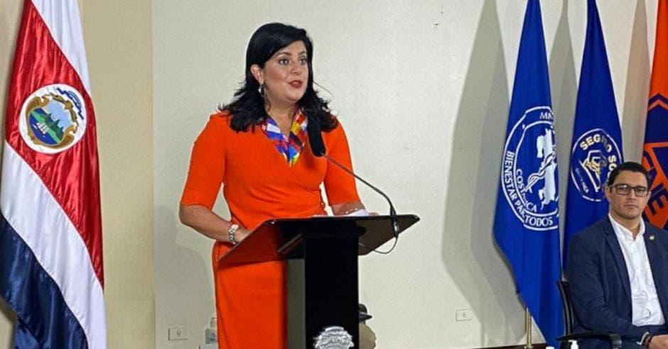 Pilar Garrido, ministra de planificación. Cortesía/La República