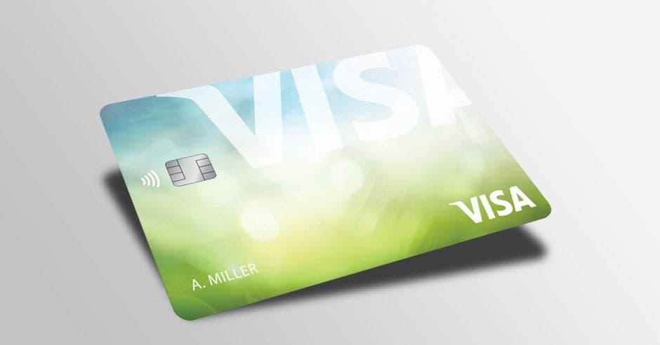 Tarjeta nueva de Visa