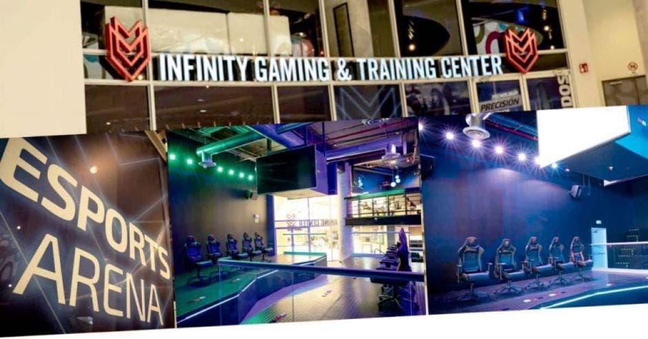 Arena donde se llevan a cabo competiciones de videojuegos