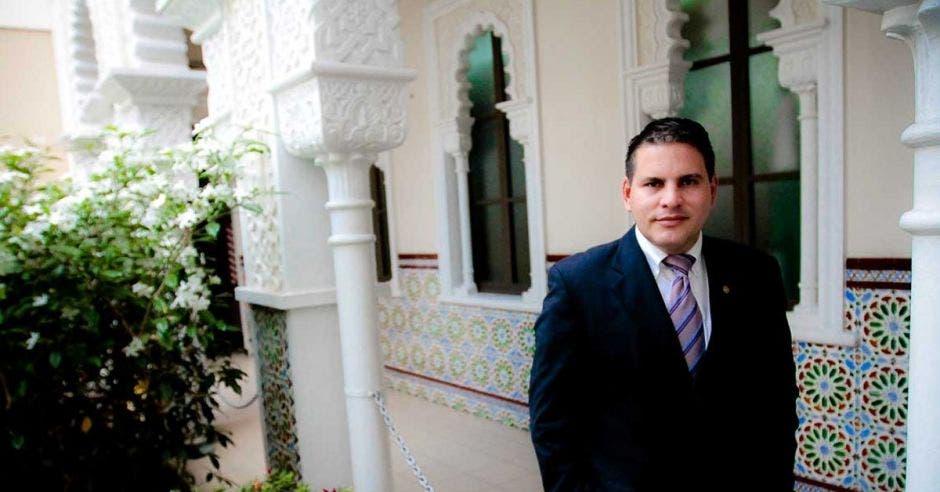 Fabricio Alvarado, secretario de Nueva República en la Asamblea Legislativa