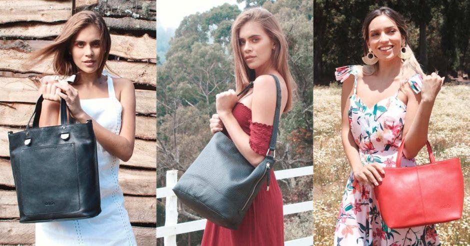 Modelos con bolso Del Río