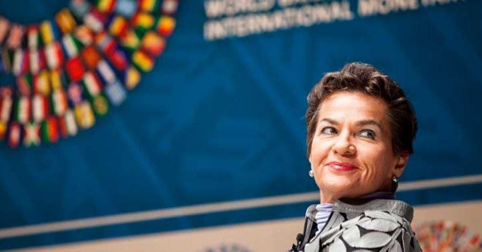Christiana Figueres, exsecretaria ejecutiva del acuerdo de Cambio Climático de París 2016