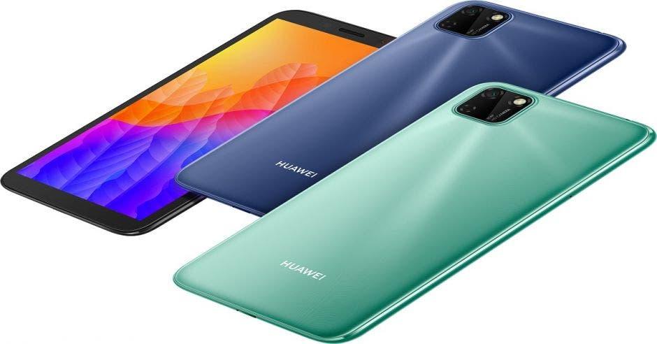 Ejemplos de Huawei Y5