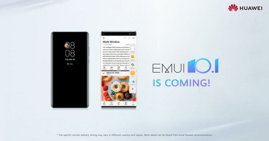 Actualización EMUI 10.1 presentada