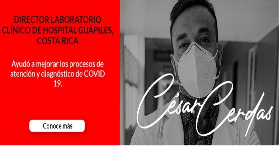 Dr. César Cerdas.