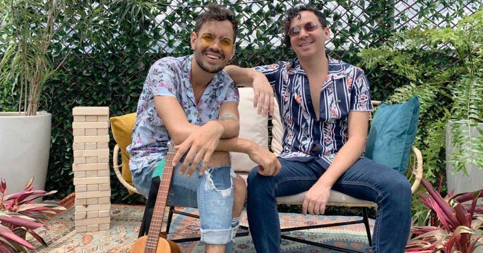 Diego y David Valverde, integrantes de la banda. Cortesía/La República