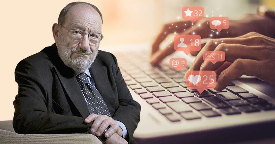 Umberto Eco, gran crítico de las redes sociales