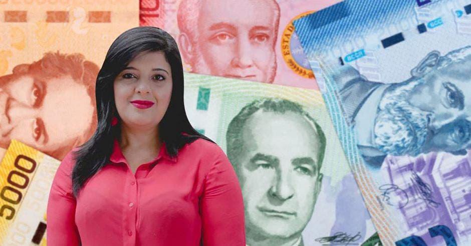 """""""Este proyecto garantizará la disciplina fiscal"""", según Pilar Garrido, ministra de planificación. Archivo/La República."""